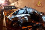 Maxi tamponamento sulla Palermo-Messina tra Rometta e Milazzo: coinvolte 10 auto, ci sono feriti