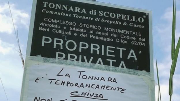 Tonnara Scopello, Trapani, Cronaca