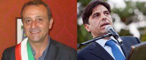 I neo sindaci di Trapani e Catania Giacomo Tranchida e Salvo Pogliese