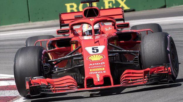 Ferrari, formula 1, gp del canada, Lewis Hamilton, Sebastian Vettel, Sicilia, Sport