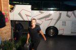 Il Palermo in ritiro, l'arrivo dei giocatori a Sappada