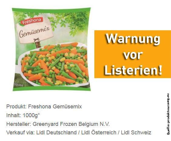 Rischio Listeria nei fagiolini: ritirato minestrone Findus