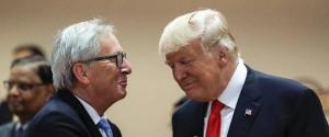 Juncker e Trump