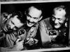 I tre astronauti dellApolo 11 Neil A. Armstrong (s), Michael Collins (c) e Buzz Aldrin (fonte: NASA)