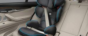 Seggiolino sicurezza per bambini in auto