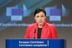 La Commissaria Ue alla Giustizia Vera Jourova