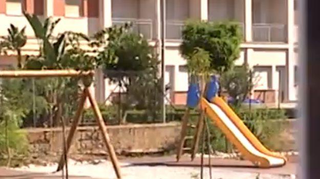 Inaugura a Palermo area giochi in memoria di Francesca Morvillo