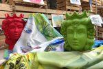 """""""Artigiani della Cultura"""", omaggio alla Sicilia con teste di moro e monumenti palermitani"""