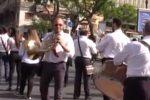 Sfilata a suon di musica, il video della parata di bande a Palermo
