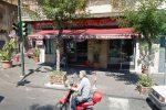 Il bar Rivombrosa di via Vittorio Emanuele, uno dei beni confiscati dalla polizia