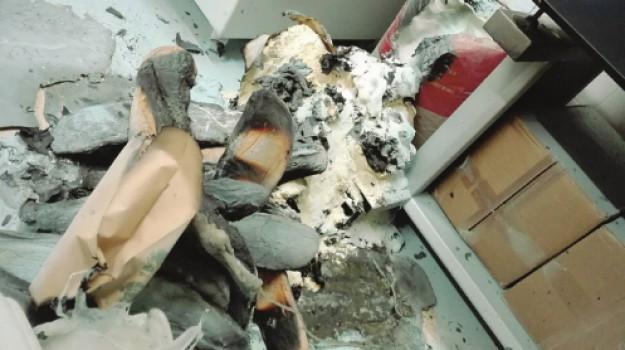 incendio panificio cacchiamo, Angelica Cerami, Sebastiano Cerami, Enna, Archivio