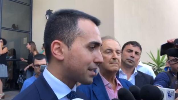 decreto dignità, di maio in sicilia, m5s, Luigi Di Maio, Sicilia, Politica