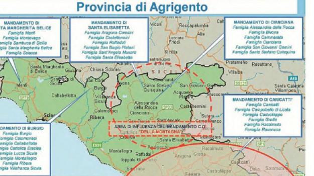 Dia, mafia agrigento, Agrigento, Cronaca