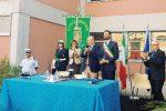 La cerimonia di insediamento del sindaco Francesco Italia