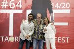 Gianvito Casadonte, Terry Gilliam e Silvia Bizio