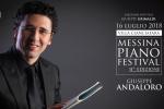 Messina Piano festival, il via con il concerto di Andaloro