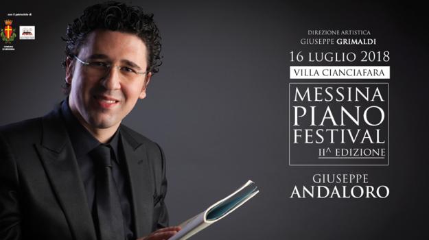 messina piano festival, Giuseppe Andaloro, Messina, Cultura