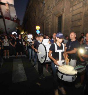 La Kids Marching Band del Teatro Massimo al Festino di Santa Rosalia: le foto della marcia