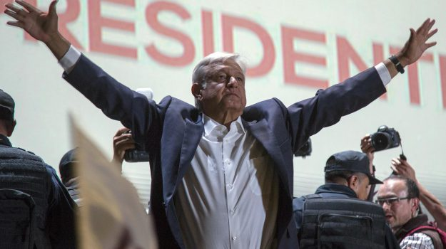 presidente messico, Andrés Manuel López Obrador, Sicilia, Mondo