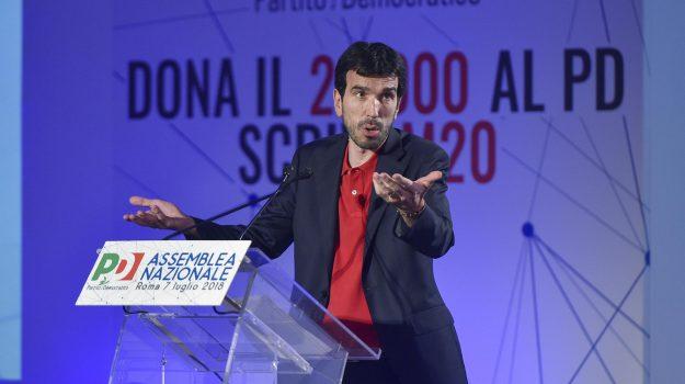 assemblea pd, segretario pd, Matteo Renzi, Maurizio Martina, Nicola Zingaretti, Sicilia, Politica