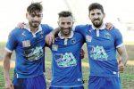 Da sinistra Vincenzo Manfrè, Nagib Sekkoum e Alexandro Noto
