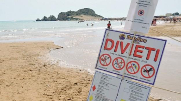 balneabilità Mollarella, divieto di balneazione Mollarella, spiaggia non balneabile a Licata, Pino Galanti, Agrigento, Cronaca