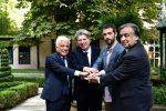 Francesco Giambrone, Gabriele Ferro, Omer Meir Wellber, Leoluca Orlando