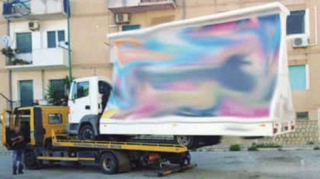 pubblicità abusive, Agrigento, Cronaca