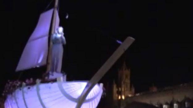 Il Festino di Santa Rosalia, la diretta in tv su Tgs