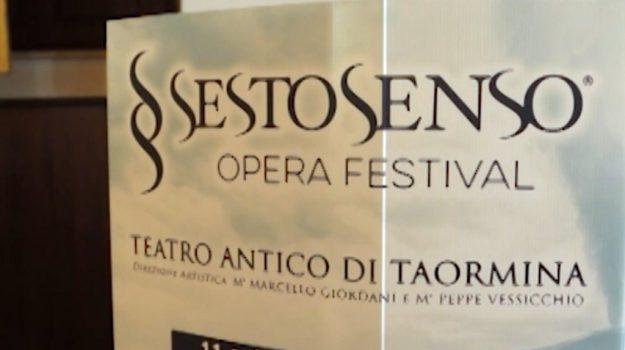 Tutto pronto a Taormina per il Sesto Senso Opera Festival