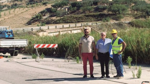 cantiere provinciale 37, Lavori Sciacca Caltabellotta, Agrigento, Cronaca