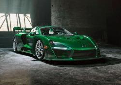 Personalizzata 'Fux Green' prima McLaren Senna per gli Usa