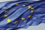 Una bandiera dell'Ue