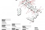 Mappa dei comuni 'Spighe Verdi'.