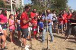 Strage di via D'Amelio, al Parco Uditore di Palermo piantati alberi in ricordo delle vittime