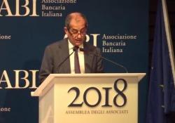 A Roma l'intervento del ministro dell'Economia