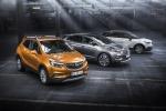 """La gamma """"X"""" di Opel comprende i due B-Suv Mokka X e Crossland X e il C-Suv Grandland X"""