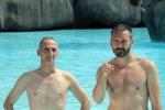 Sicurezza bimbi in acqua, Zambrotta testimonial campagna