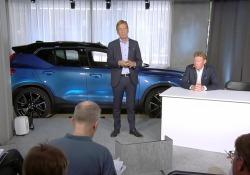 Sulla spinta degli ottimi risultati del primo semestre, il CEO di Volvo Cars Samuelsson ha prospettato un 2018 da record