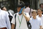 Ondata di caldo record in Giappone, sale a 65 il bilancio dei morti