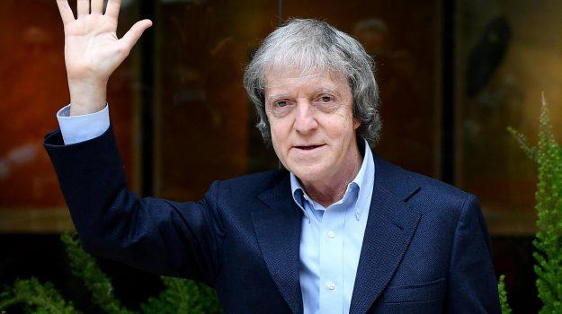Il regista Carlo Vanzina