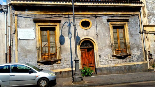 casa filosofo Sciacca, Michele Federico Sciacca, Catania, Cronaca