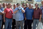 Contratti bloccati e arretrati, le immagini della protesta dei lavoratori Coime a Palermo