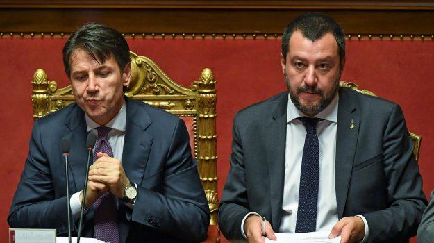migranti, Salvini migranti, Giuseppe Conte, Matteo Salvini, Sicilia, Politica