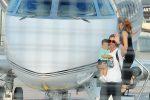 Cristiano Ronaldo sbarca in Italia per vestire la maglia bianconera