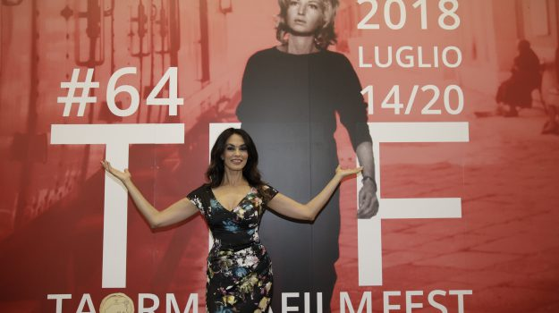 Intervista a Maria Grazia Cucinotta, madrina del Taormina Film Fest