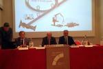 Da sinistra Claudio De Persio, direttore operativo Cobat, ?Alfonso Gifuni, Presidente di Car e Giancarlo Morandi, presidente Cobat