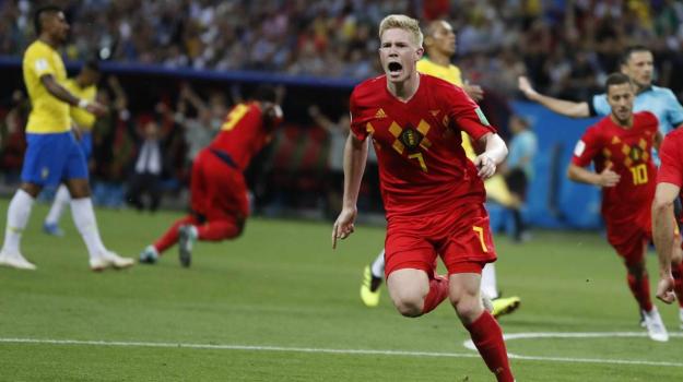 Brasile Belgio mondiali, Brasile Belgio Russia 2018, Sicilia, Sport