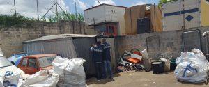 Palermo, scoperto deposito di rifiuti pericolosi alla Zisa: quattro denunce