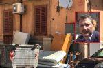 La discarica di via Mortillaro a Palermo. Nel riquadro Daniele Montalbano